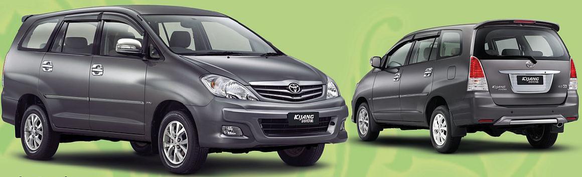 berat all new kijang innova beda yaris g dan trd tata aria kereta kencana dari india hasil kerjasama land rover primadona keluarga indonesia