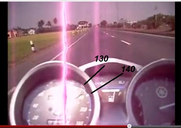 top speed vixion standar