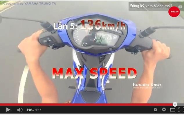 top speed jupi mx 150