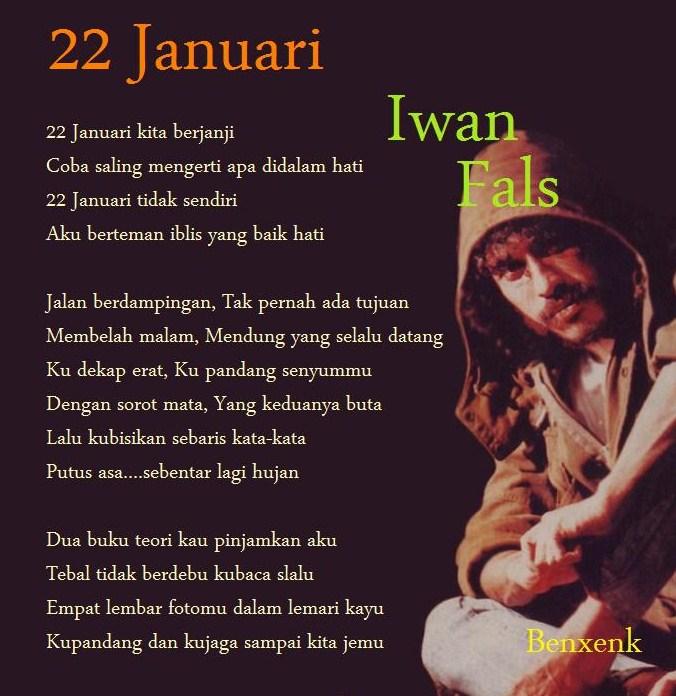 22 januari lagu Iwan