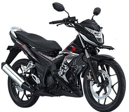 poto Honda new sonic 150r hitam
