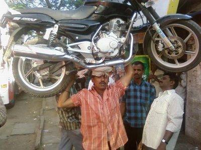 motorcyclebikeonheadindia