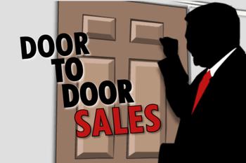 sales door to door