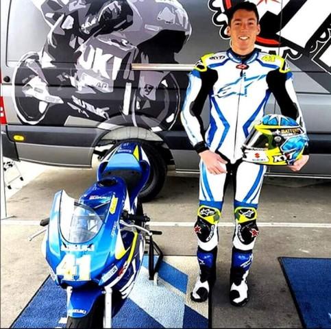 Aleix espargaro dan motor sport suzuki