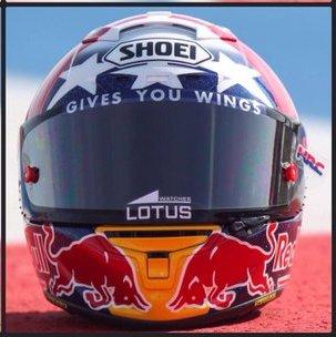 Helm Marquez Motogp Austin 2016 1