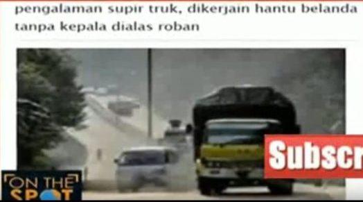 cerita horor supir truk
