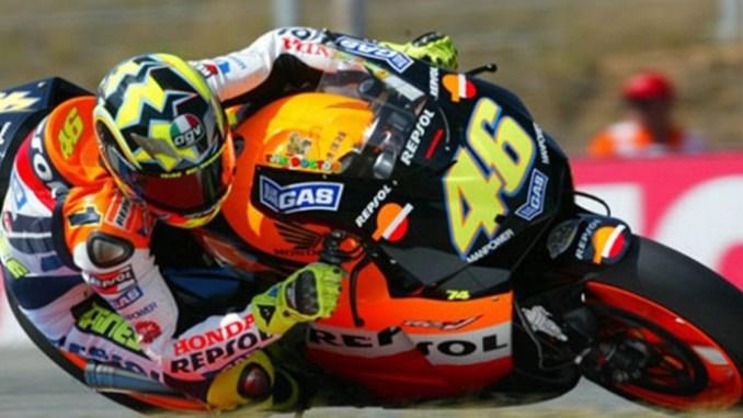 Rossi pembalap Legend