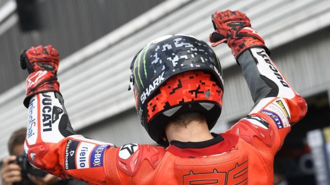 starting grid motogp inggris