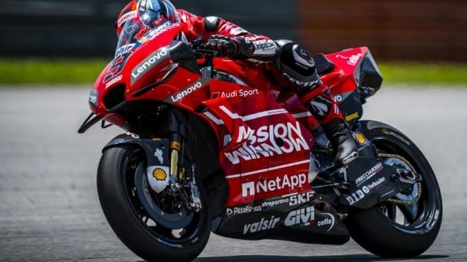 motogp 2019 sepang test hari ketiga