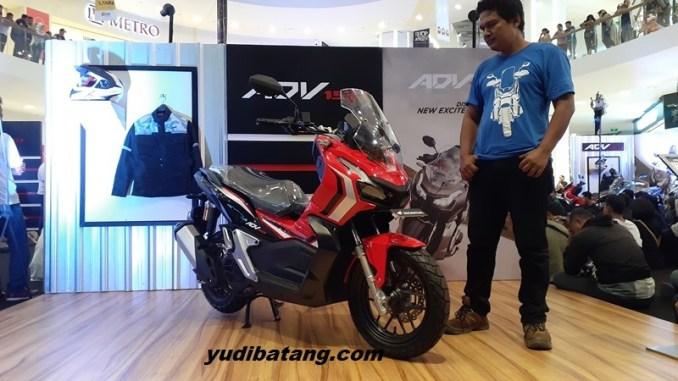 Yudibatang Honda ADV150