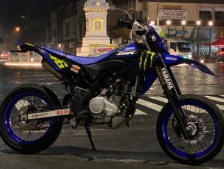 Modif Yamaha WR155R Supermoto