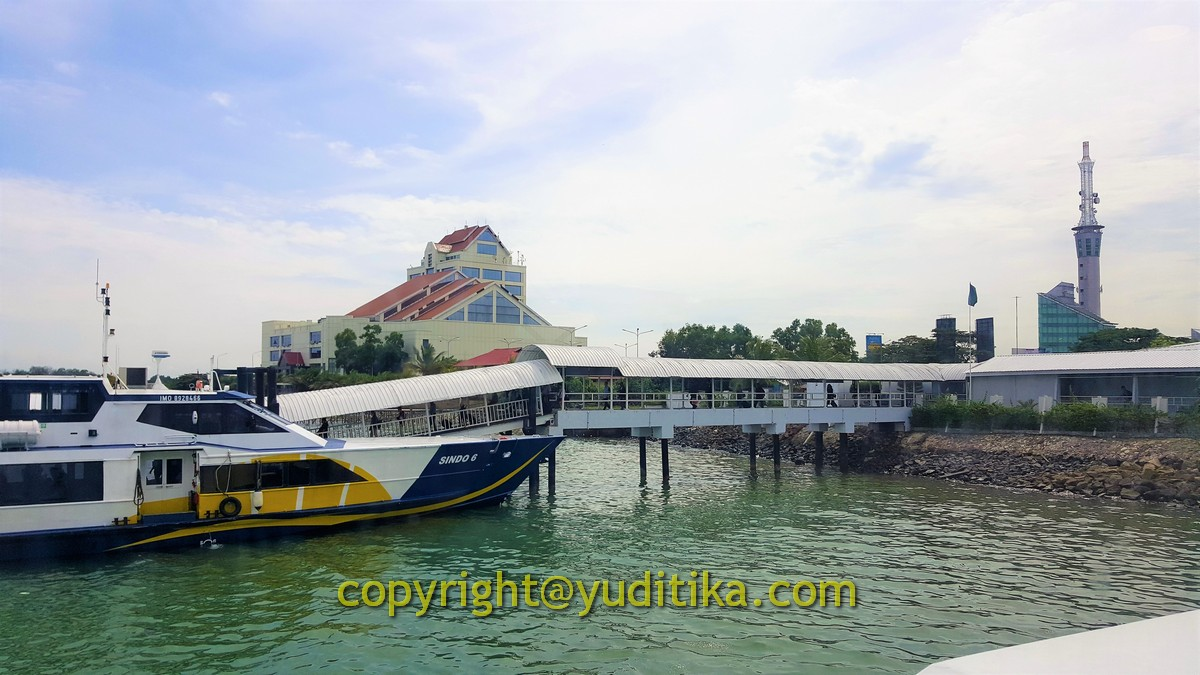 Pelabuhan Ferry Batam Center Port (batam ke singapura trip)