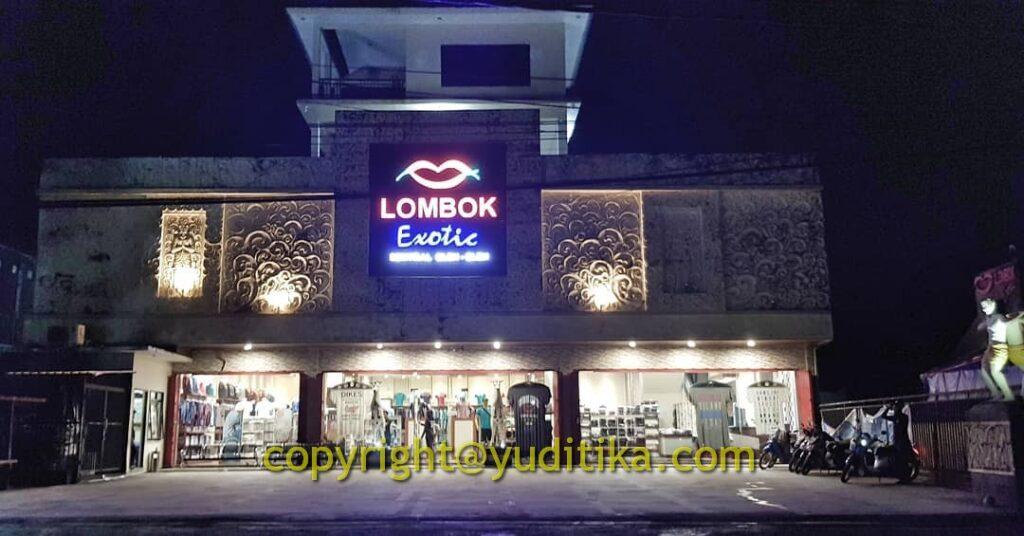 toko  oleh-oleh lombok exotic