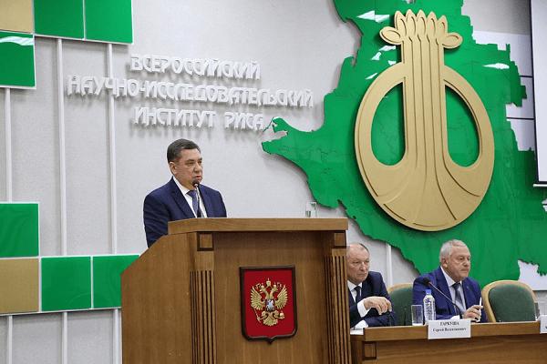 Развитие мелиоративного комплекса на примере Краснодарского края
