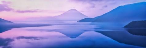 Yuga Kurita Mount Fuji Purple Calmness