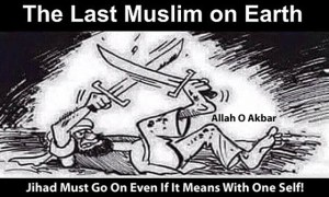 Last Muslim on Earth Cartoon