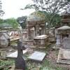 ジョージタウンの荒れた墓地