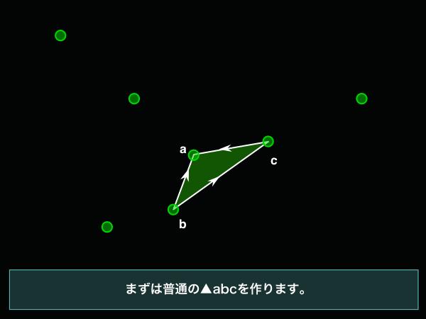 4-ingress-まず小さな三角形を作る