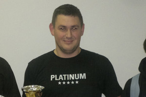 Karlo Mrvić, pobjednik Winter Challengea 2014