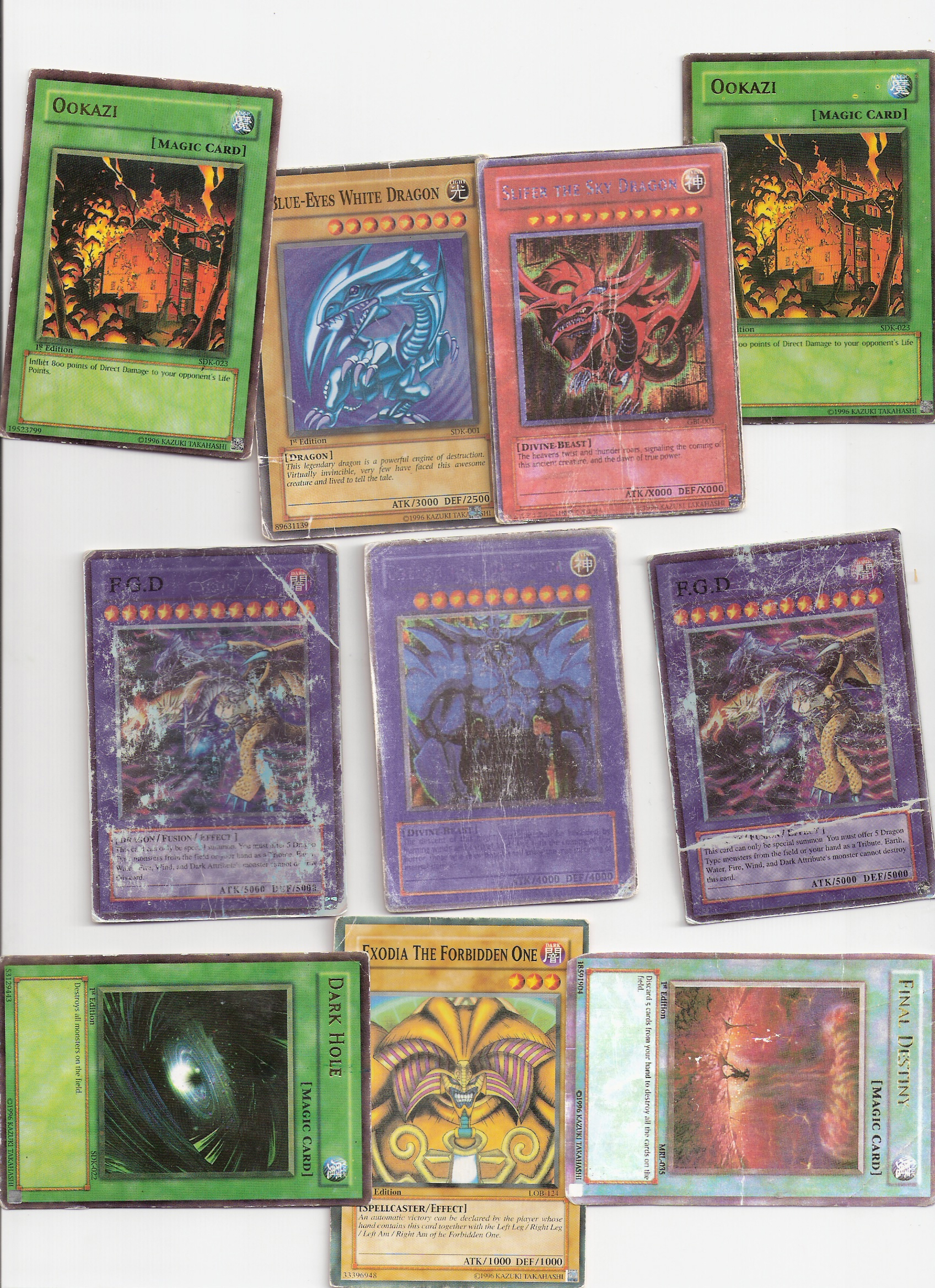 my strongest cards « yugioh