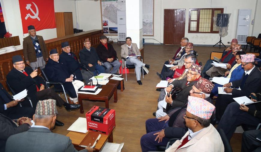 नेपाल कम्युनिष्ट पार्टी नेकपाको स्थायी कमिटि बैठक आज बस्दै