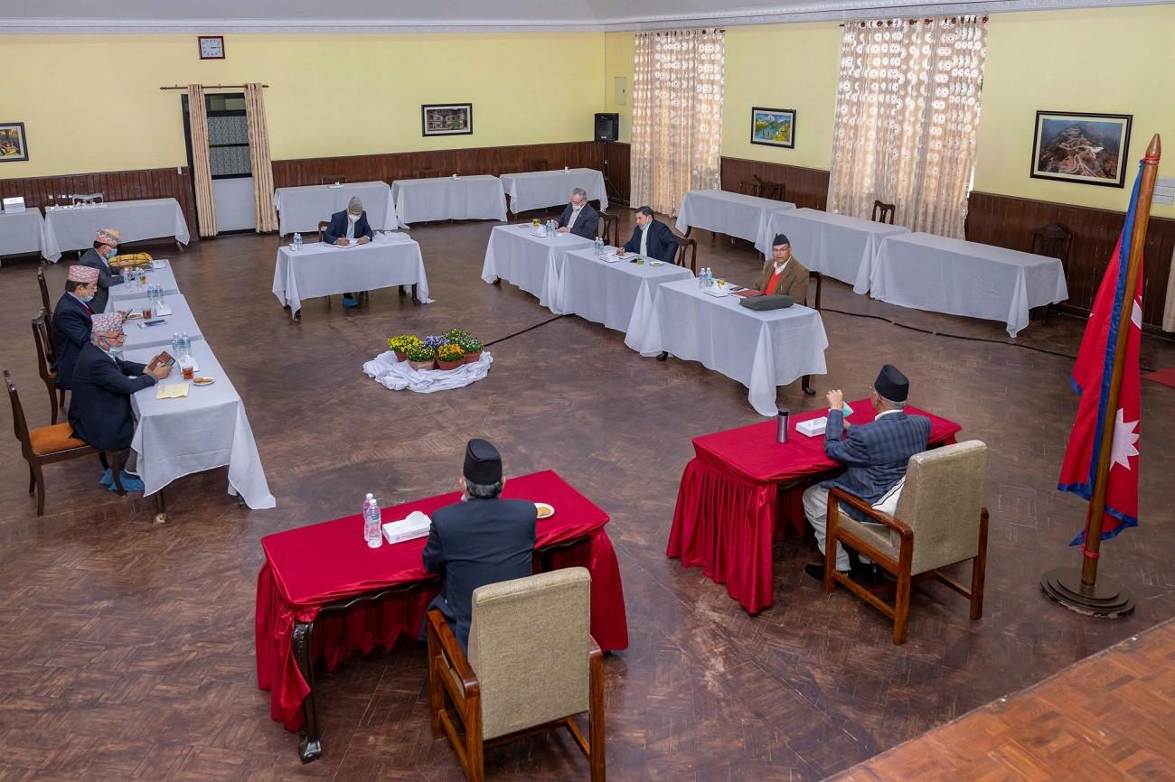 आज नेपाल कम्युनिष्ट पार्टी नेकपाको सचिवालय बैठक बस्दै