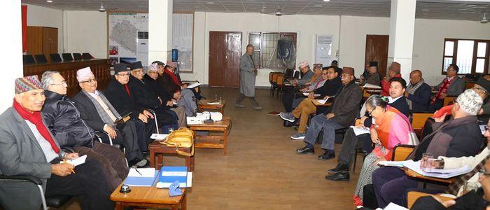नेकपा स्थायी कमिटीको बैठक थप सात दिन सम्मका लागि स्थगित
