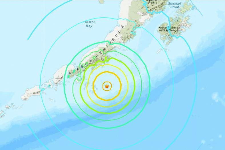 अमेरिकामा ७.८ म्याग्निच्यूडको भूकम्प, सुनामीको चेतावनी