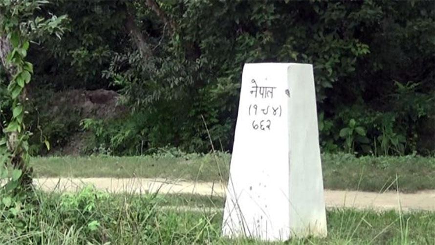 नेपाल-भारत स्ट्रीप नक्सामा त्रुटी, खारेज गर्न माग