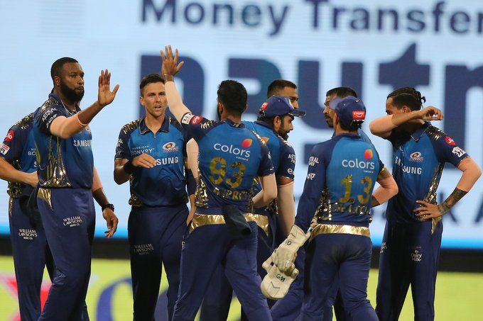 आईपीएल : युएईमा मुम्बईको पहिलो जित , कोलकाता ४९ रनले पराजित