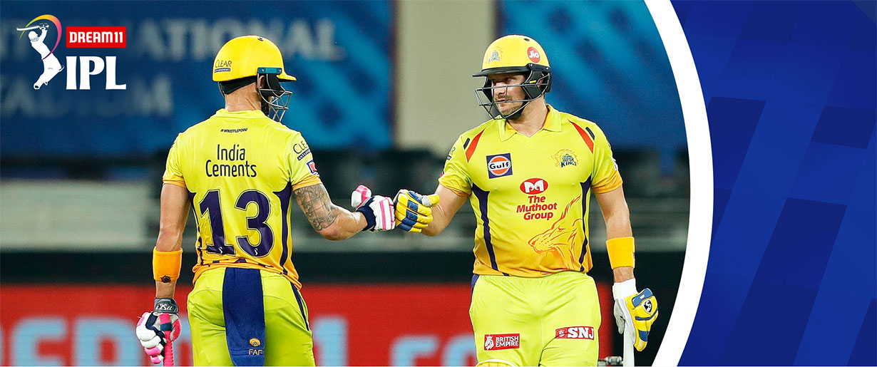 पन्जाबविरुद्ध चेन्नाई १० विकेटले विजयी