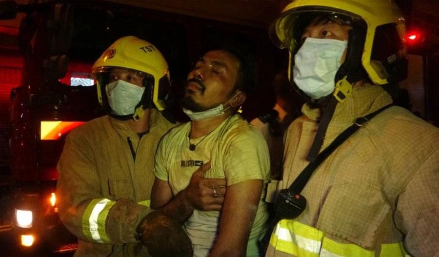 हङकङकाे नेपाली रेष्टुरेन्टमा आगलागी, ७ जनाको मृत्यु