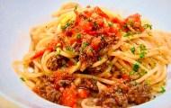 土井善晴のトマトミートスパゲッティ