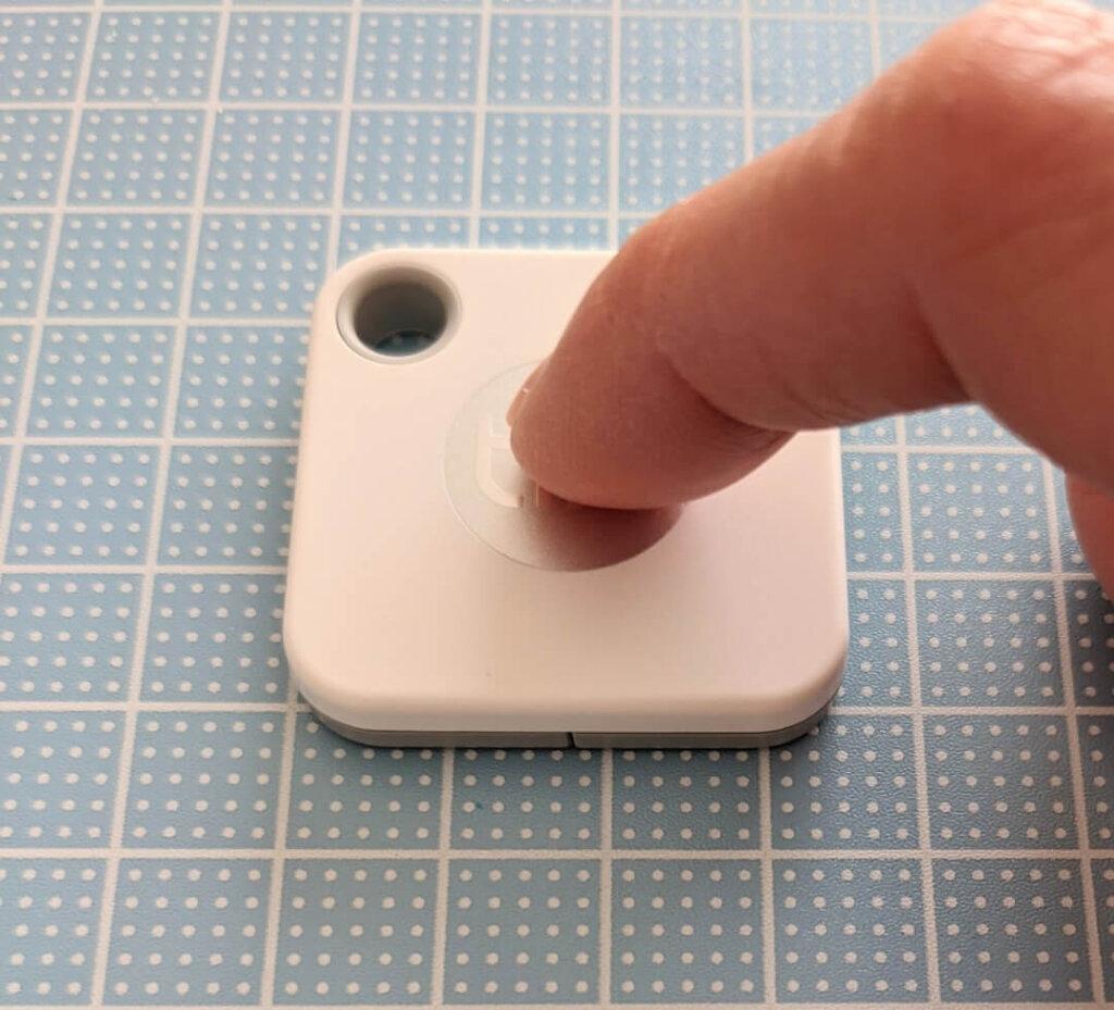 ボタンを1回押すとtileが起動
