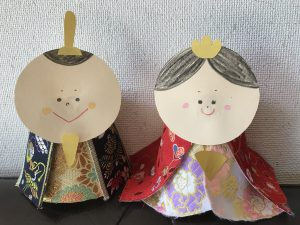 倉片人形とハグフェスのコラボ企画オリジナル雛人形