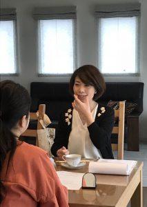 話し方教室コミュニケーションセミナーコーチングyuiフリーアナウンサー藤井千代美、藤井奈央美によるプライベートレッスン受講いただきました