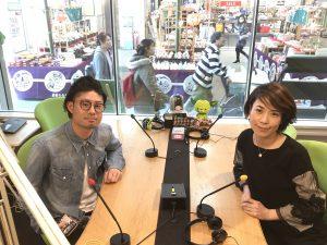 フリアナウンサー藤井千代美のお仕事。FMラジオにてゲストをお迎え