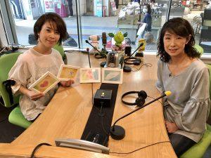 話し方講師、コミニュケーションセミナー講師yuiの藤井千代美と奈央美が担当するラジオ番組のゲスト