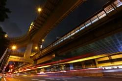 西新宿JCT 初台駅付近