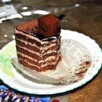 濃厚なチョコケーキ