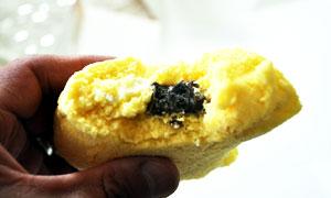 食べかけのブラックサンダーピレーネ