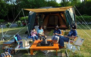 ファミリーキャンプの一コマ