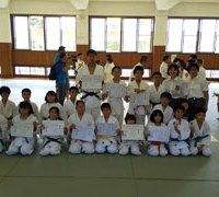 禎真館の子供たちもたくさんの賞状を獲得しました。