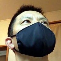 小林ゴムさんで作って頂いたマスク