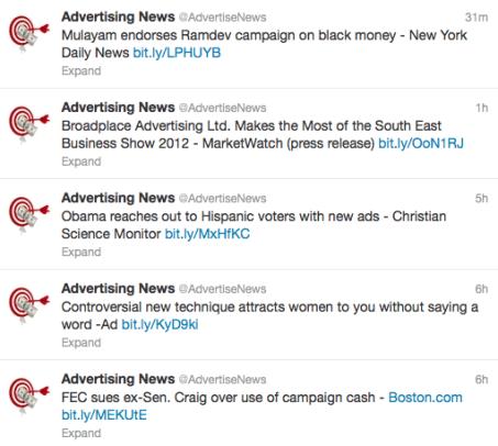 Twitter News Feed