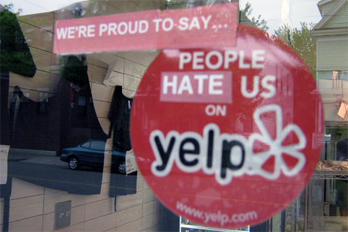 Businesses hate Yelp