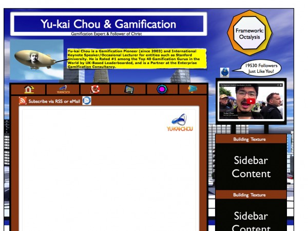 Gamified Blog
