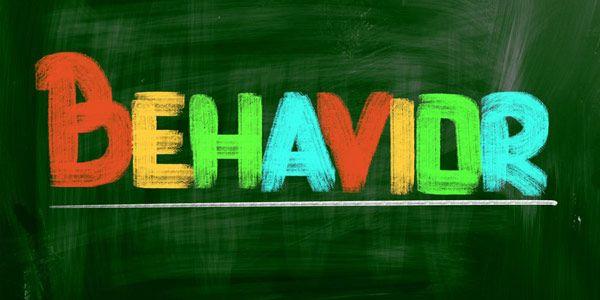 Image of multi-colored letters spelling Behavior