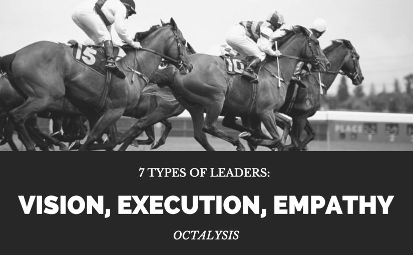 7 Types of Leaders based on Vision, Execution, and Empathy