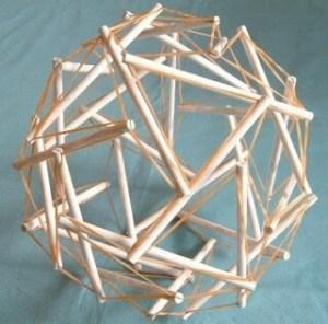 1. テンセグ多面体模型